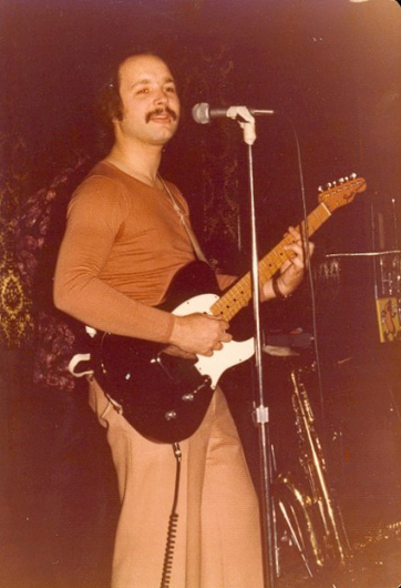 Bernie with black Tele 1976