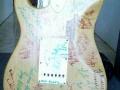 Autograph Strat back